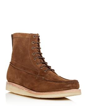 Grenson - Men's Garrett Suede Moc Toe Boots