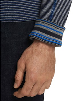 Robert Graham - Osborne Classic Fit Zip Cardigan - 100% Exclusive