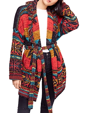 Free People Wild Wild West Fringed Cardigan