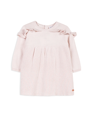 Tartine et Chocolat Girls Ruffled Knit Sweater Dress  Baby