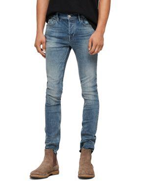 Allsaints Cigarette Skinny Jeans in Mid Indigo 3064943