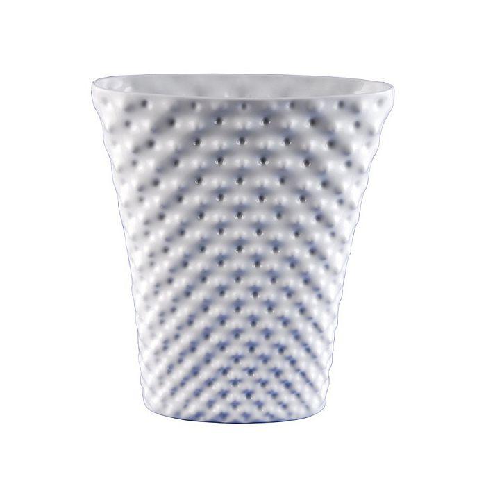 "Rosenthal - Vibrations 13.25"" Oval Vase, White by Rosenthal"