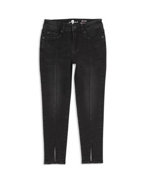 7 For All Mankind Girls' Ankle Skinny Jeans - Little Kid