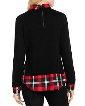 Foxcroft - Shoshana Layered Look Sweater