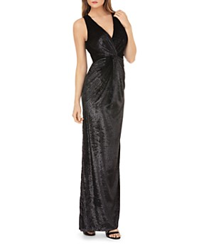 JS Collections - Shiny Velvet Gown