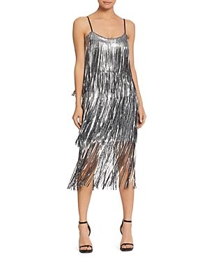 Charleston Dress: Fringe Flapper Dress Dress the Population Roxy Sequined Flapper Dress AUD 177.78 AT vintagedancer.com