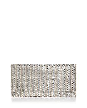 AQUA - Megan Crystal Beaded Clutch - 100% Exclusive