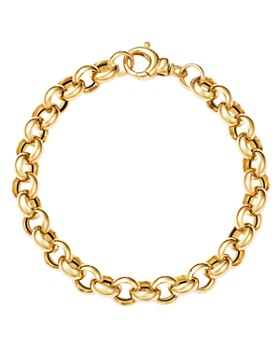 Bloomingdale's - Chunky Link Bracelet in 14K Yellow Gold - 100% Exclusive