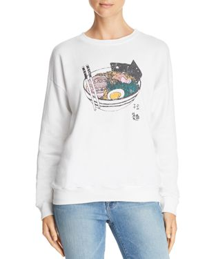 MICHELLE BY COMUNE Michelle By Comune Kelso Ramen Sweatshirt in White