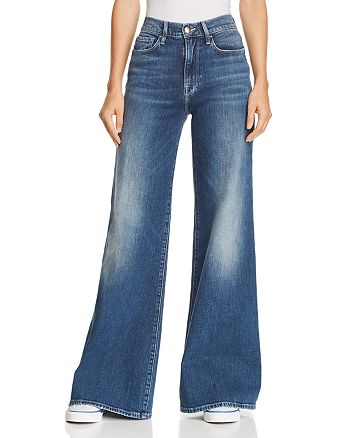 FRAME - Le Palazzo Wide-Leg Jeans in Park City