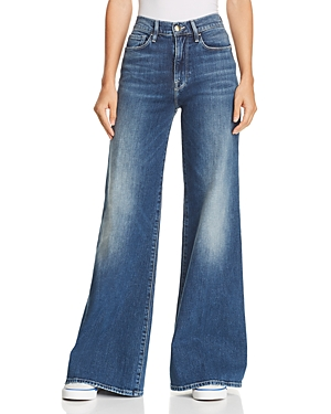 Frame LE PALAZZO WIDE-LEG JEANS IN PARK CITY