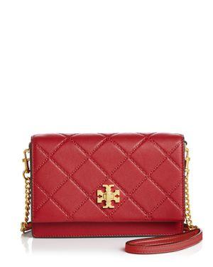 Georgia Turnlock Mini Bag, Red