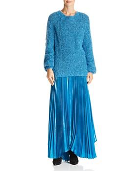 Alice and Olivia - Metallic Textured Sweater