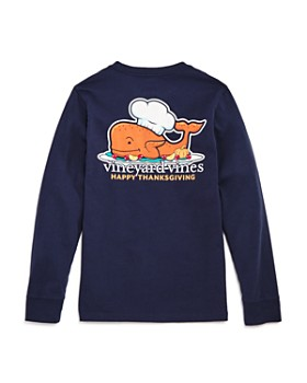 Vineyard Vines - Boys' Long-Sleeve Thanksgiving Turkey Shirt - Little Kid, Big Kid