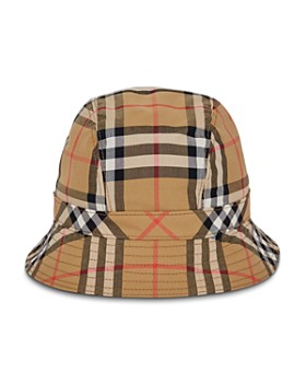 3412fb5296e Burberry - Rainbow Check Bucket Hat ...