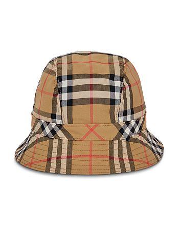 Burberry - Rainbow Check Bucket Hat