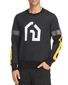 Junya Watanabe - Reflective Trim Graphic Sweatshirt