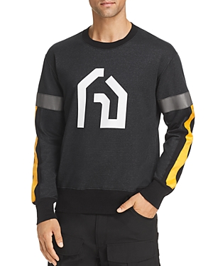 Junya Watanabe Reflective Trim Graphic Sweatshirt