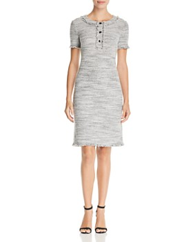 St. John - Eaton Place Tweed Dress