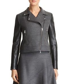 Women S Leather Coats Shearling Coats Bloomingdale S