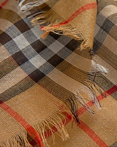 Burberry - Vintage Check Lightweight Gauze Scarf