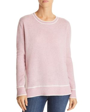C by Bloomingdale's Tipped Cashmere Sweater - 100% Exclusive