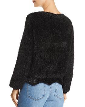 Lucy Paris - Lola Metallic-Eyelash-Knit Sweater