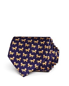 Salvatore Ferragamo - King Lions Silk Classic Tie - 100% Exclusive