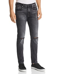 FRAME - L'Homme Skinny Fit Jeans in Hubbell
