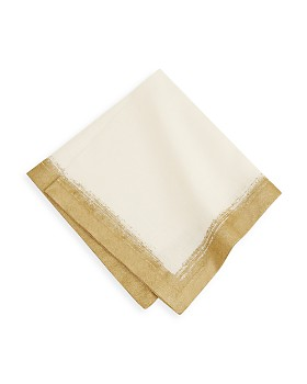 Villeroy & Boch - Metallic Brushstroke Napkins, Set of 4