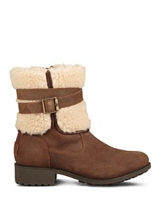 UGG® - Women's Blayre Round Toe Leather Boots