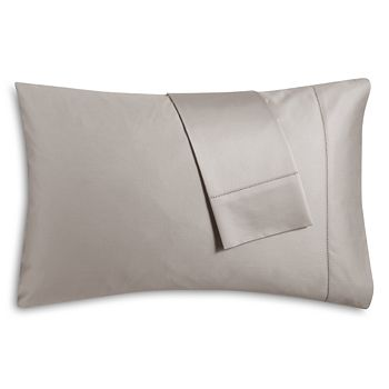 Hudson Park Collection - 600TC Sateen Solid Standard Pillowcase, Pair - 100% Exclusive