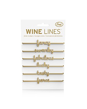 Fred & Friends - Wine Lines Sassy Markers, Set of 6