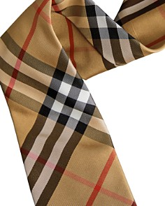 Burberry - Maston Checked Silk Skinny Tie