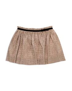 kate spade new york - Girls' Metallic Crepe Skirt - Big Kid