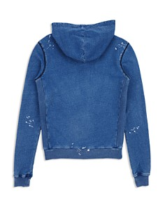 7 For All Mankind -  Boys' Splatter Paint Terry Hoodie - Little Kid