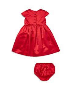 Ralph Lauren - Girls' Satin Dress & Bloomers Set - Baby