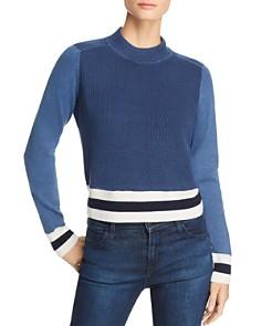 rag & bone/JEAN - Dean Color-Block Mock-Neck Sweater