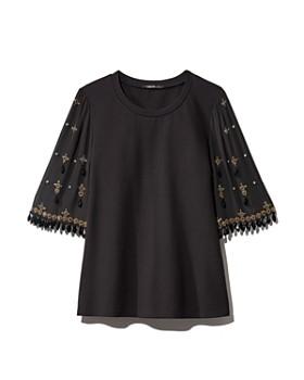 Kobi Halperin - Daria Embellished Bell Sleeve Blouse