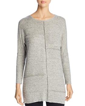 Coin - Brushed Paneled Tunic Sweater