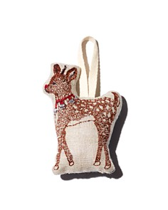 Coral & Tusk - Rudolph Embroidered Ornament