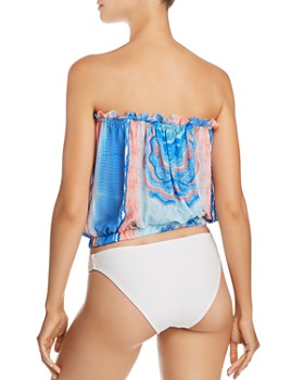 Ramy Brook - Printed Mika Top Swim Cover-Up