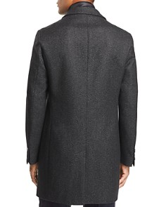 BOSS - Nadim Birdseye Topcoat w/ Zip-Out Bib