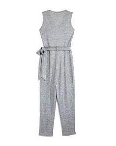 Miss Behave - Girls' Ribbed Jordan Jumpsuit - Big Kid