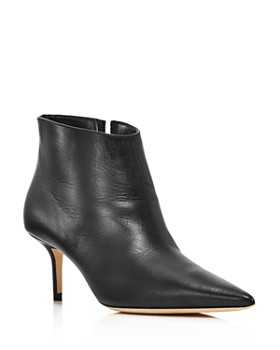 Jimmy Choo - Women's Marinda 65 Mid-Heel Leather Booties