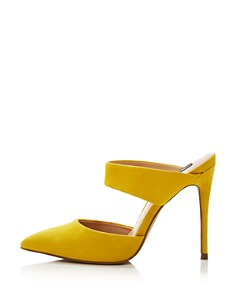 AQUA - Women's Dee Pointed Toe High-Heel Mules - 100% Exclusive