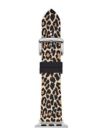 kate spade new york - Leopard Print Silicone Band for Apple Watch®, 38mm & 40mm