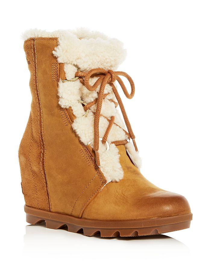 low price sale super quality authorized site Sorel Women's Joan of Arctic Wedge II Waterproof Shearling Hidden ...
