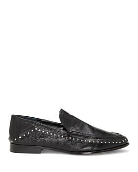VINCE CAMUTO - Women's Jendeya Studded Leather Loafer