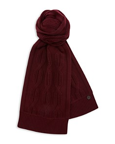 Ted Baker - Foscarf Cable Knit Scarf